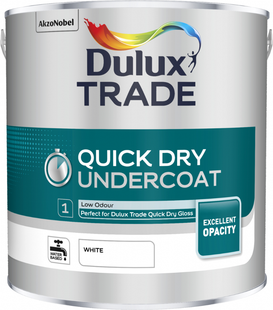Dulux Trade Quick Dry Undercoat Custom Mixed Colours